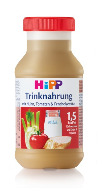 Trinknahrung Hipp Huhn/Tomate/Fenchel vollbilanziert 6 x 200 ml