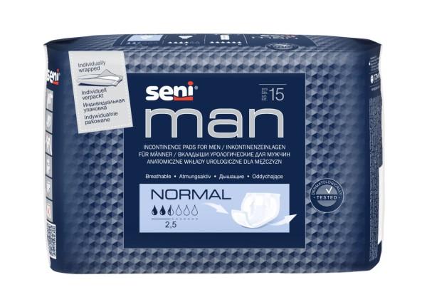Inkontinenzeinlagen Seni Man Normal 15 Stück