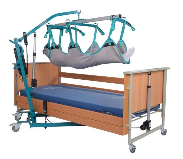 aks Liegendtrasportgurt für Transportbügel mit 8-Punktaufnahme für Patientenlifter