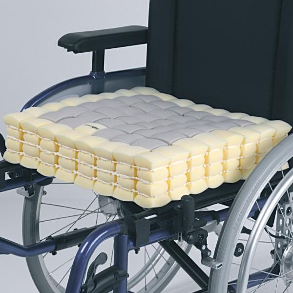 Rollstuhlkissen Kubivent Thera-Cubus