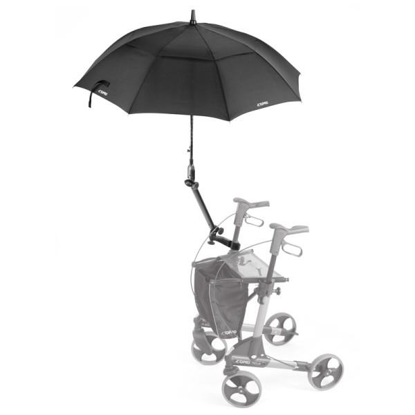 Schirm mit Multifunktionsarm für Topro Rollator