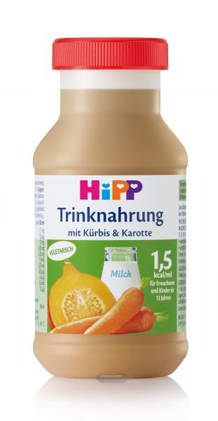 Trinknahrung Hipp Kürbis/Karotte vollbilanziert 6 x 200 ml