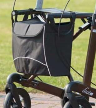 Wetterfeste Tasche Russka für Rollator Vital mit Magnetverschluss