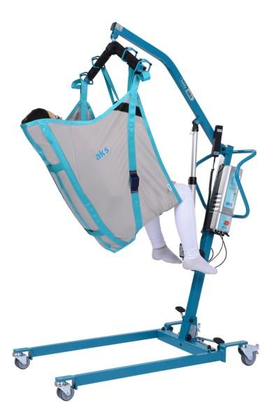 aks Komfortgurt mit integrierter Kopfstütze für Patientenlifter