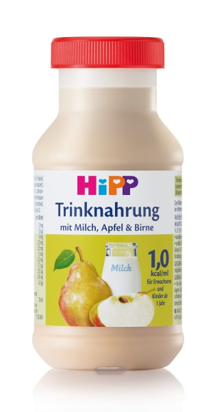 Trinknahrung Hipp Milch/Apfel/Birne vollbilanziert 6 x 200 ml PZN 12896384