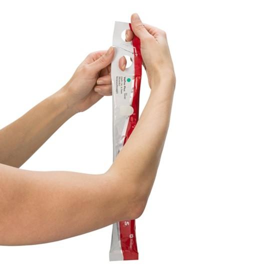 Hollister Berührungsfreier hydrophiler Einmalkatheter mit Beutel VaPro Plus