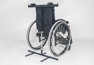 Rollstuhl-Kippsicherung Reck für MOTOmed loop
