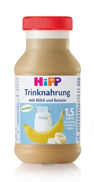 Trinknahrung Hipp Milch/Banane vollbilanziert 6 x 200 ml PZN 04828670