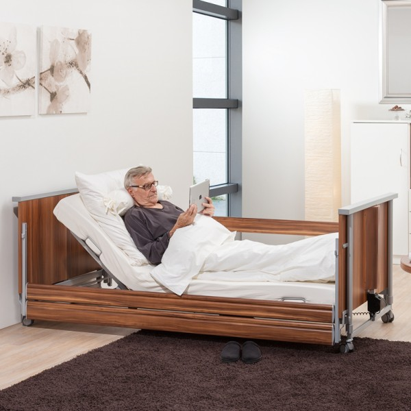 Hermann Bock Pflegebett domiflex niedrig classic