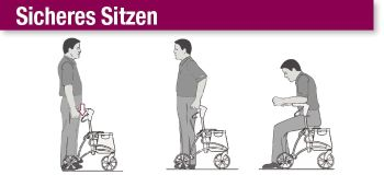 Wie-setzt-man-sich-richtig-auf-einen-Rollator?