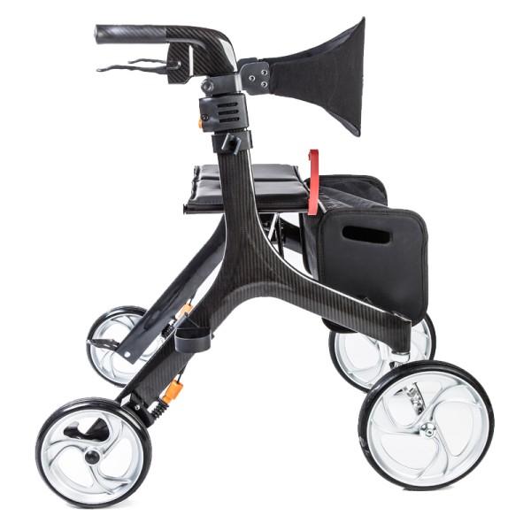 Bescomed Carbon Rollator 4,9 kg leicht