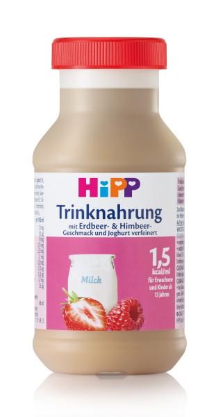 Trinknahrung Hipp Jogurt/Erdbeere/Himbeere vollbilantiert 6 x 200 ml