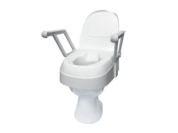 Toilettensitzerhöhung Drive Medical TSE 120 mit Armlehnen