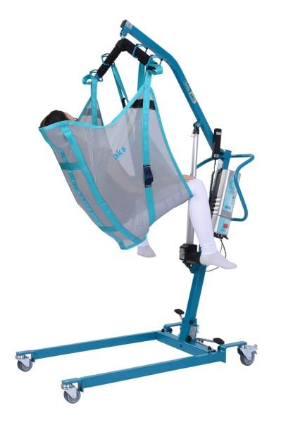 aks Komfortbadegurt mit integrierter Kopfstütze für Patientenlifter