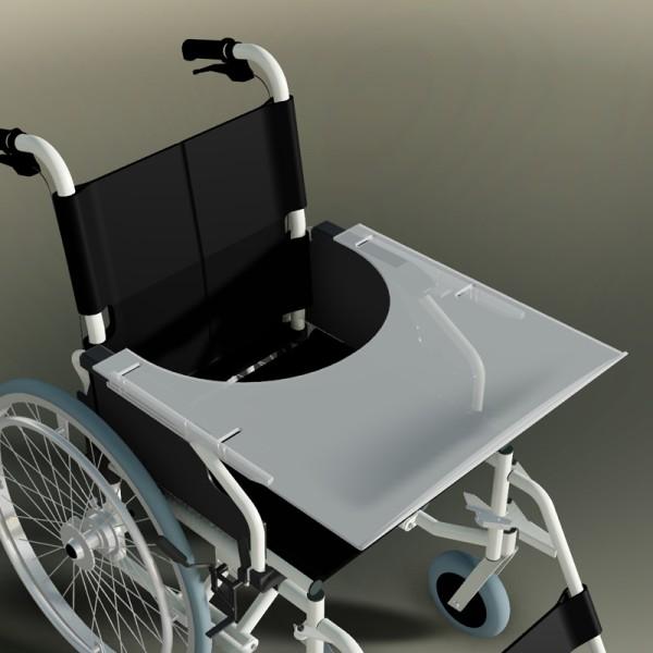 Therapietisch für Trendmobil Rollstuhl