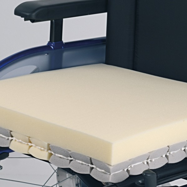 Rollstuhlkissen Kubivent Dual-Plus 8 cm