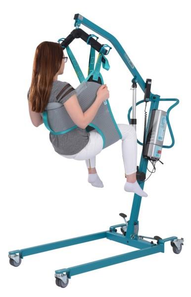 aks Schnelltransportgurt mit Brustschlaufe zum Baden für Patientenlifter