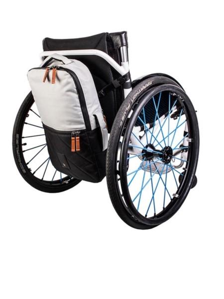 Kinetic Balance Rollstuhltasche Backrest Bag Silber/Schwarz