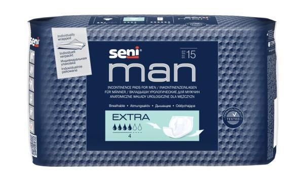 Inkontinenzeinlagen Seni Man Extra 15 Stück